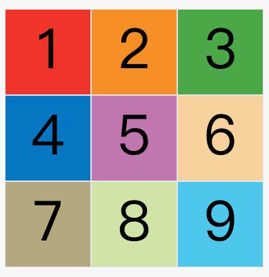 grid-template-columns、grid-template-rows 属性
