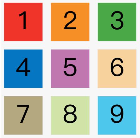 grid-row-gap、grid-column-gap