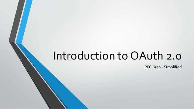 OAuth 2.0 四种方式 简介